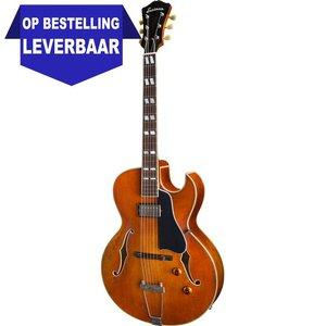 Eastman T49/v Hollowbody gitaar Amber