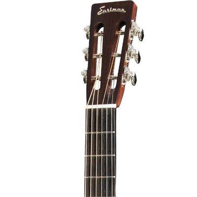 Eastman E20 P Akoestische gitaar Parlor Sunburst +Case