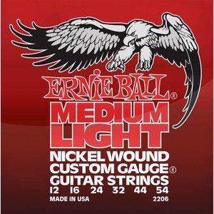 Ernie Ball 2206 Snaren Nickel Medium Light Wound-G