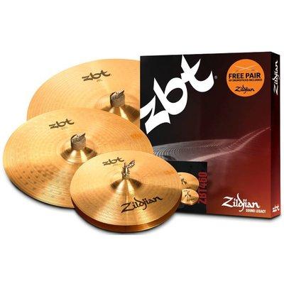 Zildjian ZBT460 Bekkenset ZBT 14HH/16CR/20RD