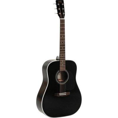 Sigma DM-1ST-BK+ Akoestische gitaar Black
