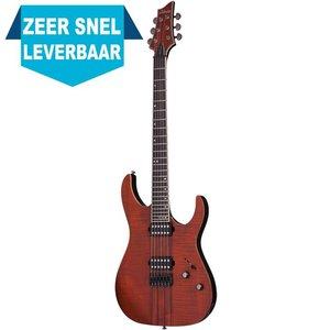 Schecter Banshee Elite-6 Elektrische gitaar Cat's Eye Pearl