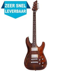 Schecter C-1 E/A Elektrische gitaar Cats Eye