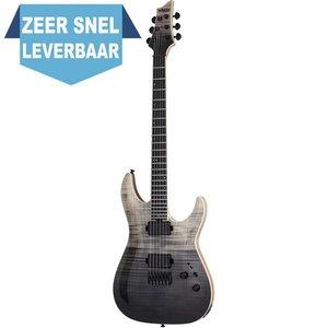 Schecter C-1 SLS Elite Elektrische gitaar Black Fade Burst
