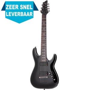 Schecter Hellraiser C-7 Elektrische gitaar Black