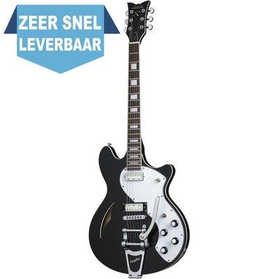 Schecter T SH-1B Elektrische gitaar Black Pearl