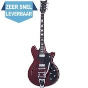 Schecter T SH-1B Elektrische gitaar See Thru Cherry Pearl