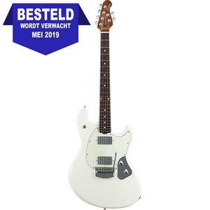 Music Man Stingray RS Guitar Elektrische gitaar Ivory White