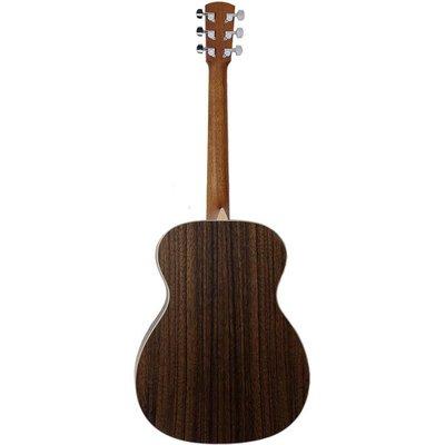 Larrivee OM-03LA Akoestische gitaar Orchestra Natural Satin +Case