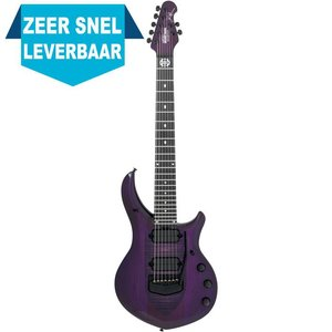 Music Man Monarchy Majesty 7-String Gitaar Purple