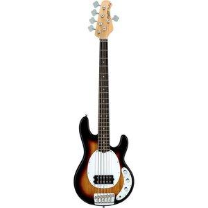 Sterling by Music Man RAY25CA Basgitaar 3-Tone Sunburst