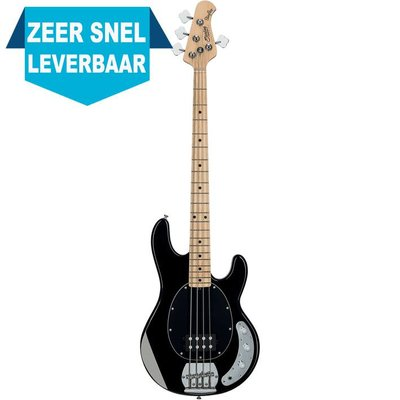 Sterling by Music Man RAY4 Basgitaar Black