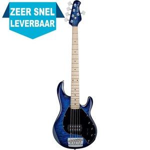 Sterling by Music Man RAY35QM Basgitaar Neptune Blue