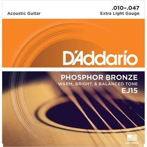 D'Addario EJ15 Snaren Phosphor Bronze Extra Light