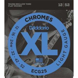 D'Addario ECG25 Snaren Chromes Light