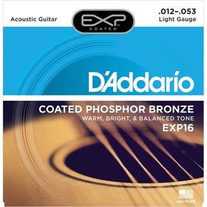 D'Addario EXP16 Snaren Coated Phosphor Bronze Light