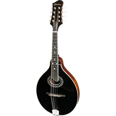 Eastman MD404-BK Mandoline A-Style Black +Case