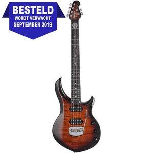 Music Man Majesty Elektrische gitaar Tiger Eye
