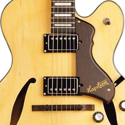Hagstrom HJ500 Hollowbody gitaar Natural Gloss