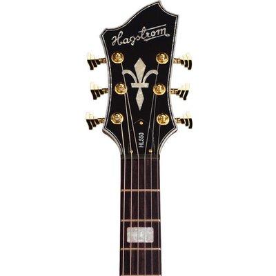 Hagstrom HL550 Hollowbody gitaar Mahogany Gloss
