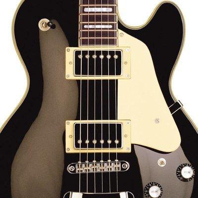 Hagstrom Super Swede Elektrische gitaar Black Gloss