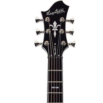 Hagstrom Ultra Swede Elektrische gitaar Black Gloss