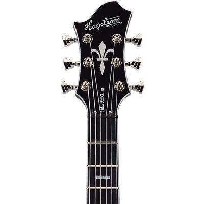 Hagstrom Ultra Swede Elektrische gitaar Cosmic Blackburst