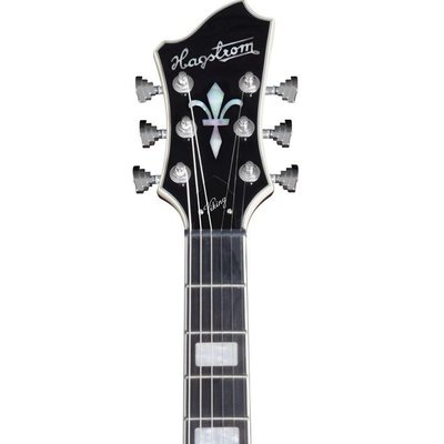 Hagstrom Viking Hollowbody gitaar Black Gloss