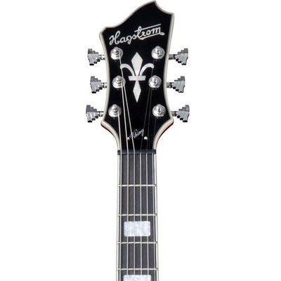 Hagstrom Viking Hollowbody gitaar Transparent Cherry