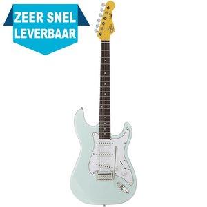 G&L Tribute S500 Elektrische gitaar Sonic Blue
