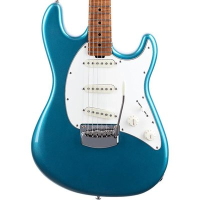 Music Man Cutlass RS Elektrische gitaar Vintage Turquoise +Case