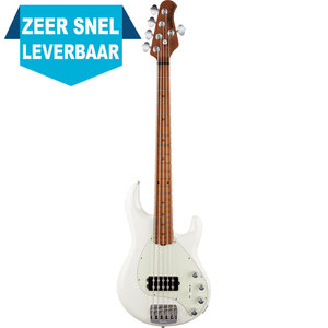 Music Man Stingray 5 Special Bass Maple Ivory White