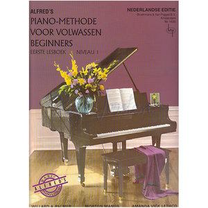 ALFRED'S PIANO METHODE VOLWASSEN BEGINNERS 1