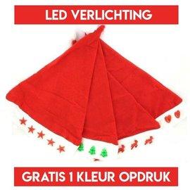10 LED kerstmutsen