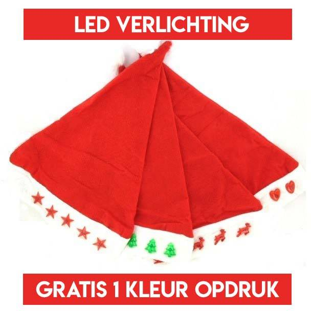 100 LED kerstmutsen