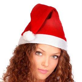 Blanco kerstmuts 72st