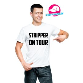 Stripper on tour