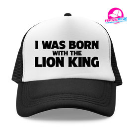 I was born with the lion king