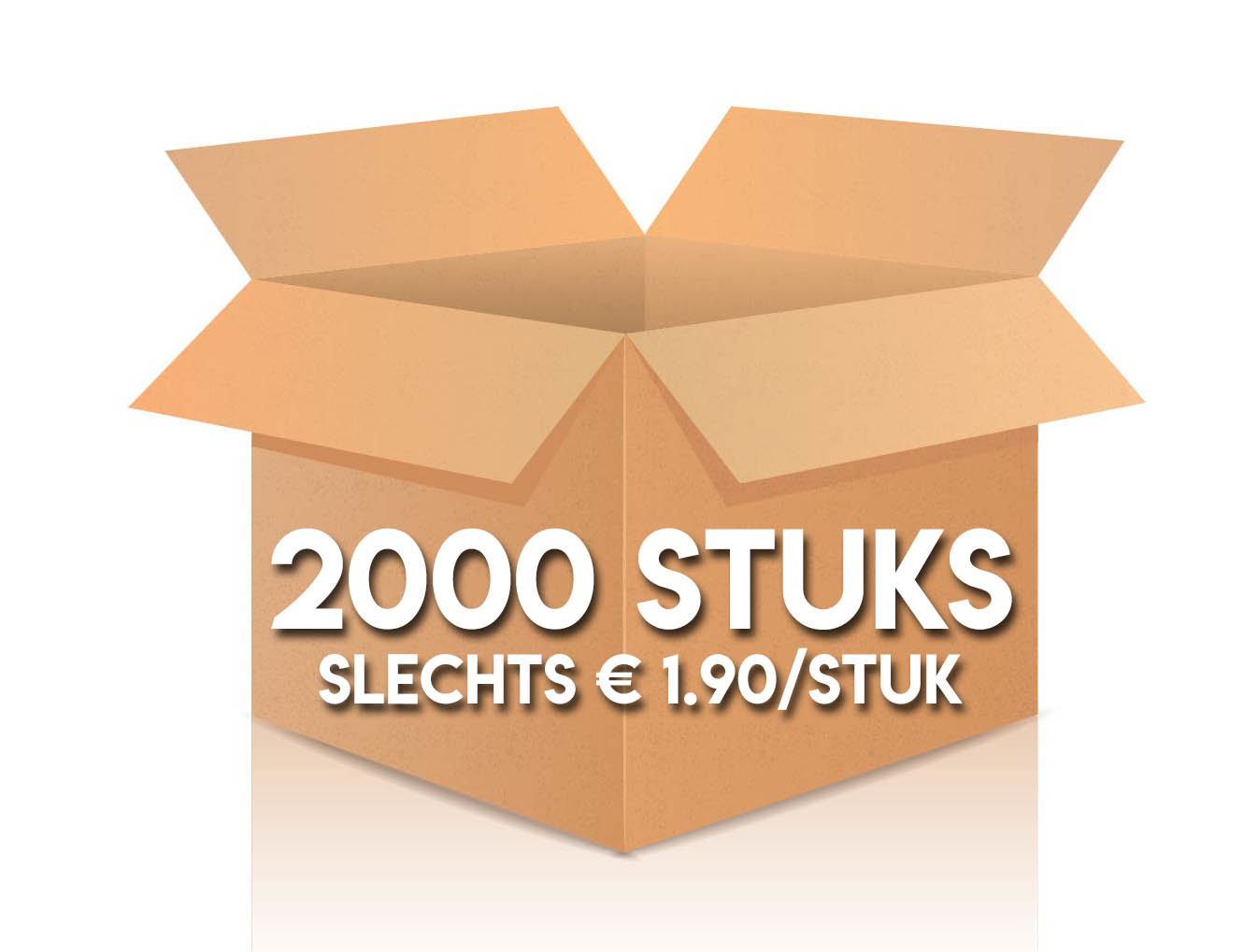 2000 stuks