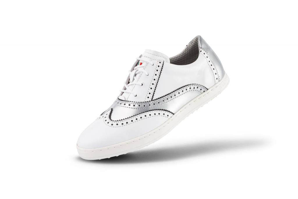 Ischia White-Silver Dames