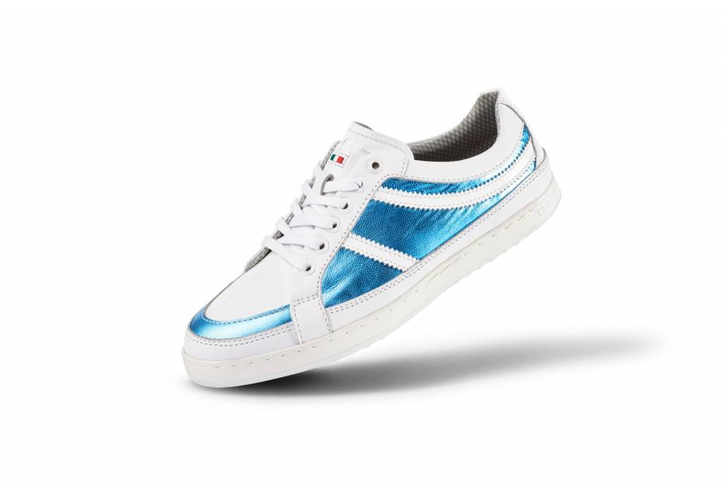 Capri White/Blue Dames