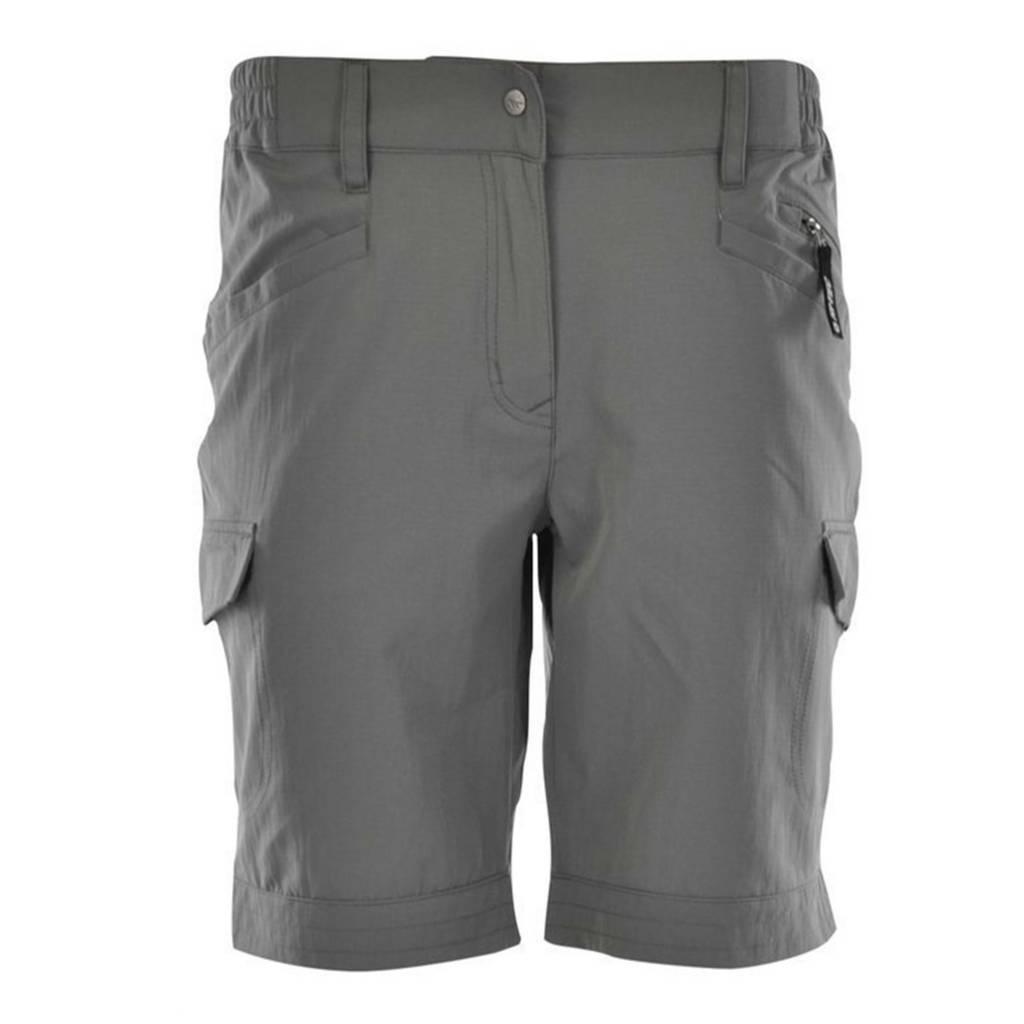 Tyan Shorts Dames Grijs