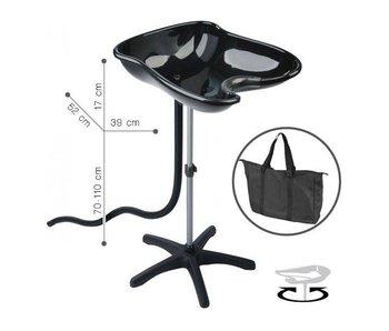 Sibel Compact zwart, mobiele wasbak