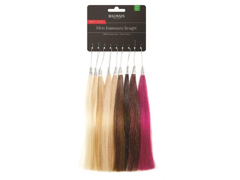 Balmain Color ring Fill-In Extensions Straight Trendcolors Outlet!