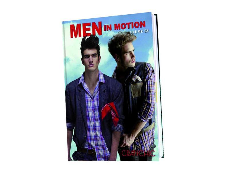 Hair Graphics Modellenboek Men in Motion #98255