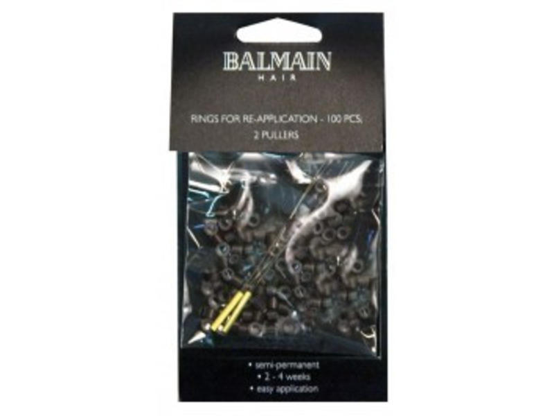 Balmain Rings Brown 100 stuks