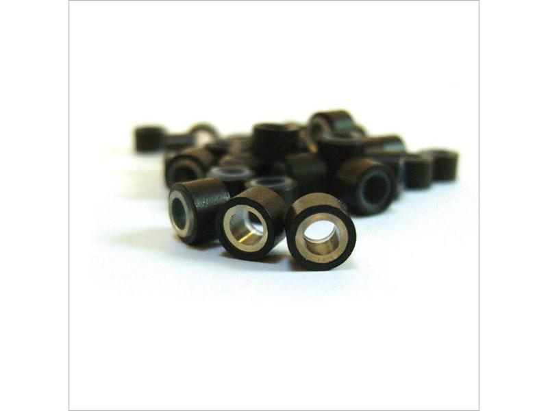 Balmain Micro Rings Brown 100 stuks