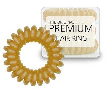 Original premium Hair Ring Misted Yellow, per drie stuks