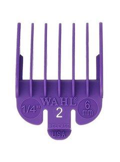 Wahl Opzetkam Plastic 6mm Violet