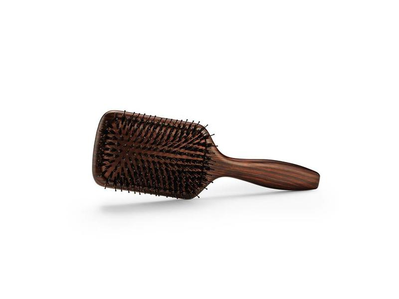 Bratt Bravehead Vintage Maple Paddle Brush